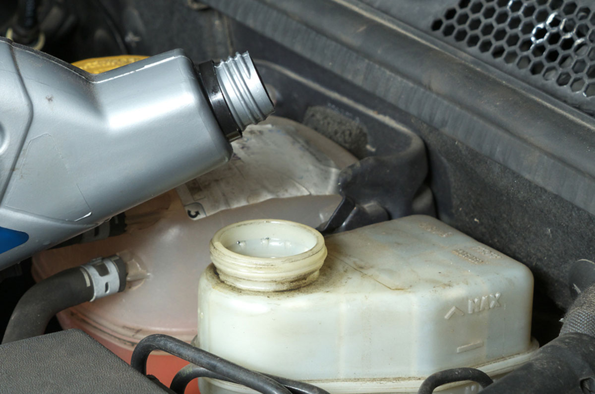 Cambio liquido de frenos