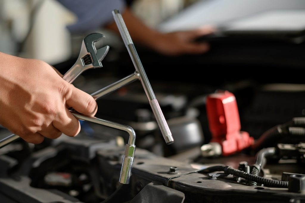 Reparación neumáticos de tractores